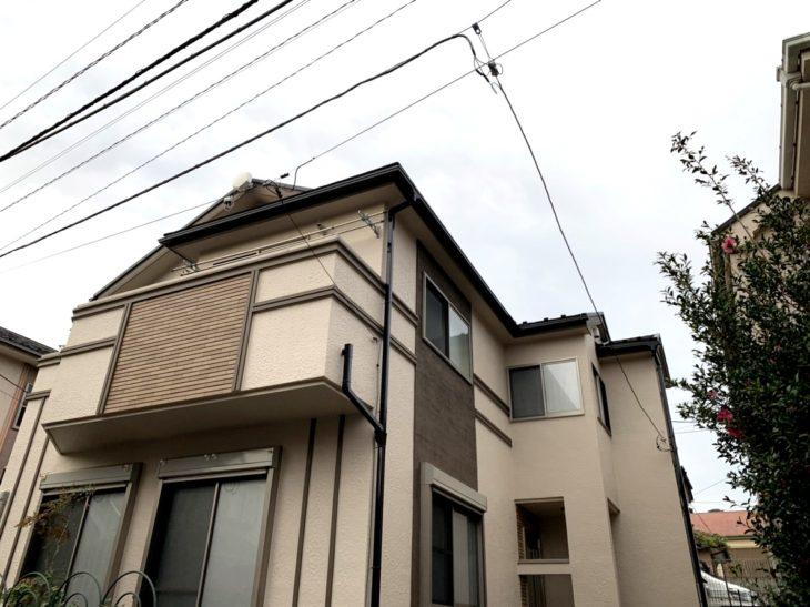 【火災保険適用】鎌ヶ谷市東中沢 Kさま 外壁塗装 屋根カバー工法