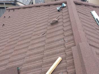 佐倉市上座Hさま 雨漏り修理・屋根カバー工法・Tルーフ