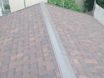 四街道市大日Eさま 雨漏り修理・ニチハアルマ・屋根カバー工法・外壁塗装