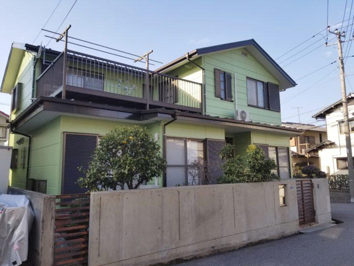 佐倉市王子台 Oさま 外壁塗装 屋根塗装 雨とい交換 OBのお客さま