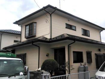 千葉県八街市 Fさま 外壁塗装 屋根塗装 雨樋工事